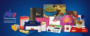 برخی از جعبه های غذایی و دارویی