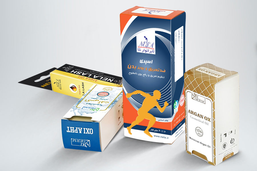 نمونه ای از جعبه دارویی